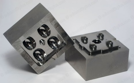 Injection mold insert | Tool steel 1.2767 - 55 HRc