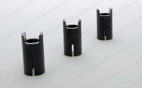 Injection molding plastic clutch