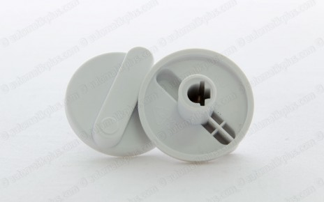 Injection molding plastic knob