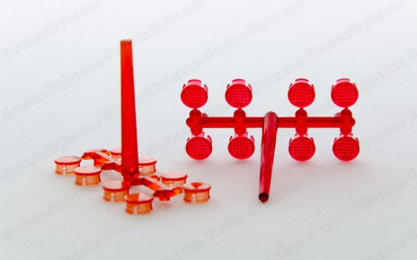 Injection molding plastic lens